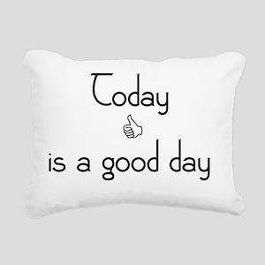 goodday Rectangular Canvas Pillow