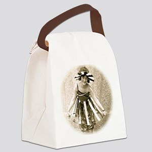 Bathing Beauty Canvas Lunch Bag