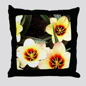 Girlfriend flowers at Keukenhof Throw Pillow