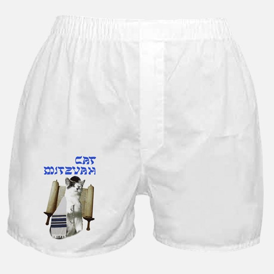 catmitzvah final Boxer Shorts