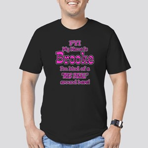 Brooke Men's Fitted T-Shirt (dark)