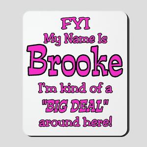 Brooke Mousepad