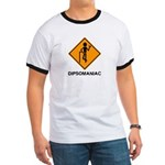 Caution Dipsomaniac Ringer T