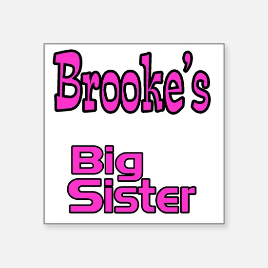 "big sister Square Sticker 3"" x 3"""