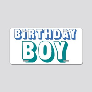 birthdayboy-01 Aluminum License Plate