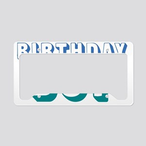 birthdayboy-01 License Plate Holder