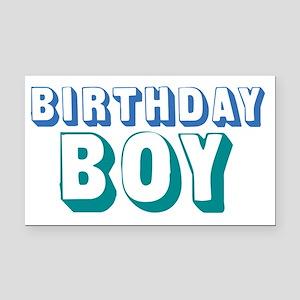 birthdayboy-01 Rectangle Car Magnet
