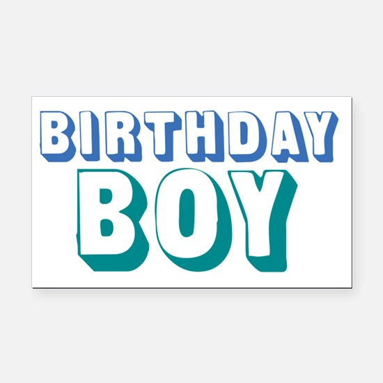 birthdayboy-01 Rectangle Car Magnet