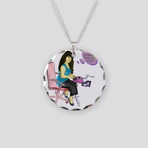 reporter_4 Necklace Circle Charm