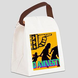 NO AMNESTY!(wall calendar) Canvas Lunch Bag