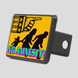 NO AMNESTY!(wall calendar) Rectangular Hitch Cover