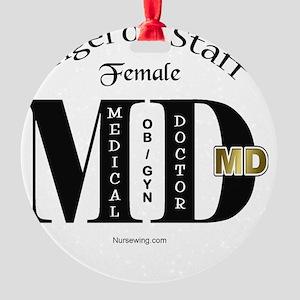 fmd-ob-aos Round Ornament