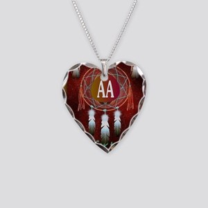 AA INDIAN Necklace Heart Charm