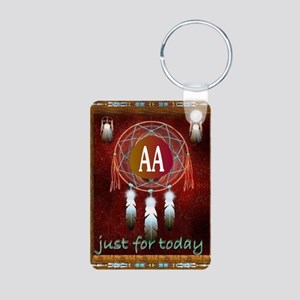 AA INDIAN Aluminum Photo Keychain