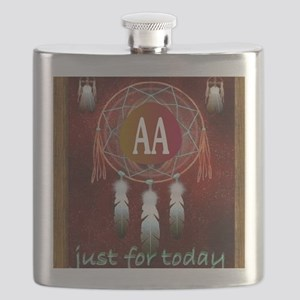 AA INDIAN Flask