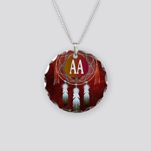 AA INDIAN Necklace Circle Charm
