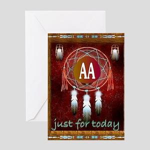 AA INDIAN Greeting Card