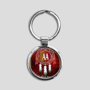 AA INDIAN Round Keychain