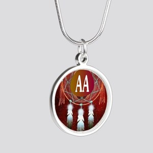AA INDIAN Silver Round Necklace