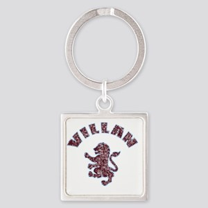 villanfaded Square Keychain