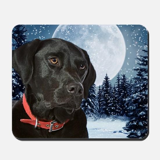 WinterLabCard Mousepad