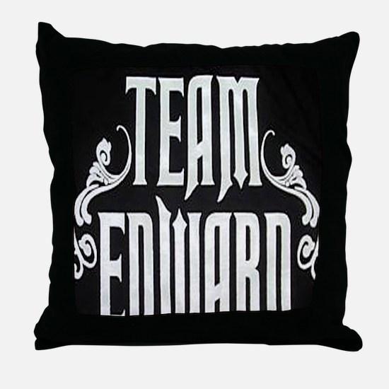 teamedwardlarge Throw Pillow