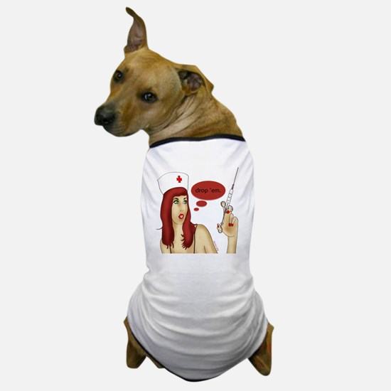 nurse_needle Dog T-Shirt