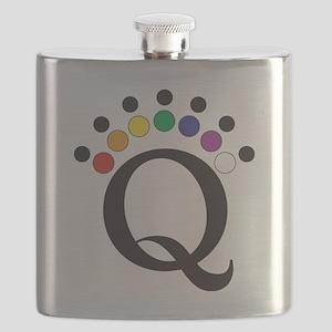 QColor Logo Flask
