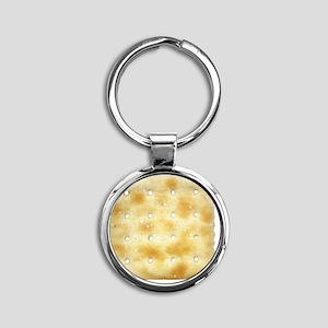 cracker Round Keychain