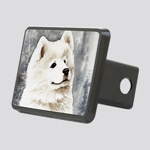 Samoyed Puppy Rectangular Hitch Cover