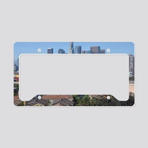 downtown-la License Plate Holder