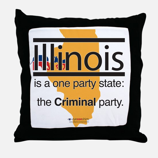 PT-114-L_Criminal Party Throw Pillow