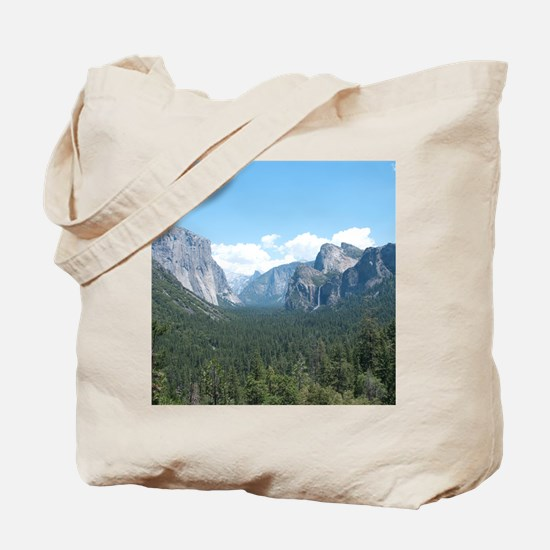 tunnel-view-clock Tote Bag