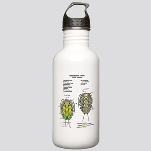 t-shirt_trilobite Stainless Water Bottle 1.0L