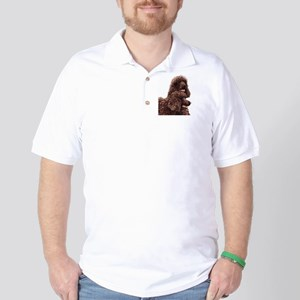 Irish Water Spaniel 5x5 Golf Shirt