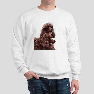 Irish Water Spaniel 5x5 Sweatshirt