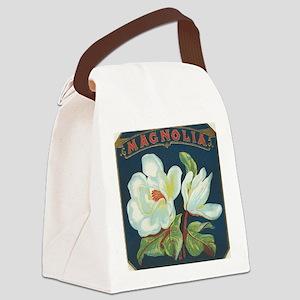 Magnolia antique cigar label Canvas Lunch Bag