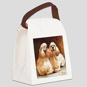 Cocker Spaniels Canvas Lunch Bag