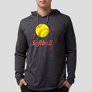 Girls softbal Long Sleeve T-Shirt