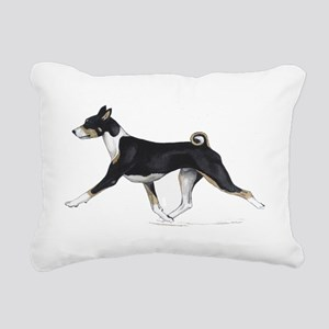 Basenji Rectangular Canvas Pillow