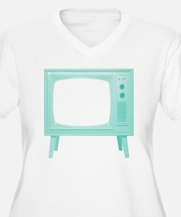 empty v color T-Shirt