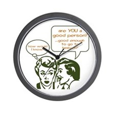 Retro - Good Person - Office Clock