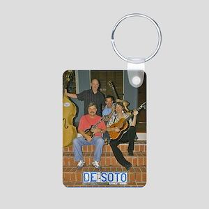 band Aluminum Photo Keychain