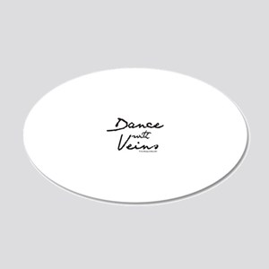 Nurse_-_dances_with_veins2 20x12 Oval Wall Decal