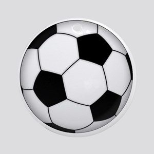 Soccer_ball Round Ornament