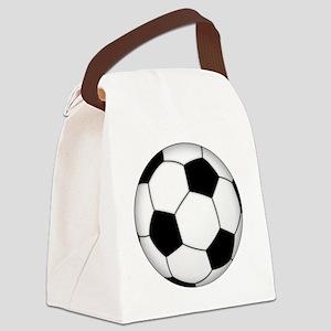 Soccer_ball Canvas Lunch Bag