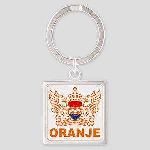 oranje Square Keychain