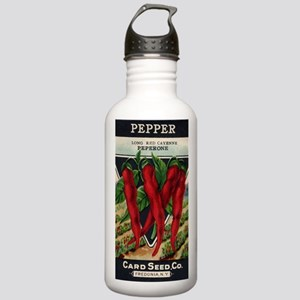 Cayenne Red Pepper ant Stainless Water Bottle 1.0L