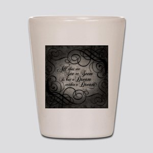 dream-within-a dream_b Shot Glass