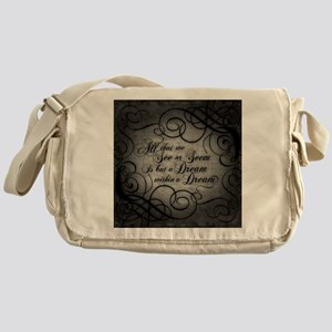 dream-within-a dream_b Messenger Bag